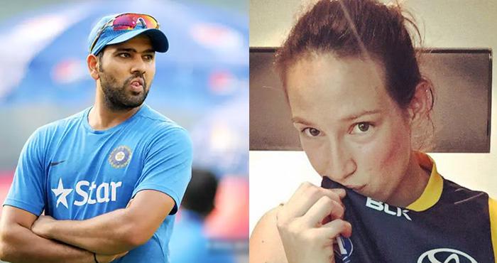 रोहित शर्मा का तूफानी शतक देख दिवानी हुई यह खुबसूरत महिला क्रिकेट खिलाड़ी, कर दी ऐसी बात दंग रह गए दुनिया भर के क्रिकेट प्रेमी।