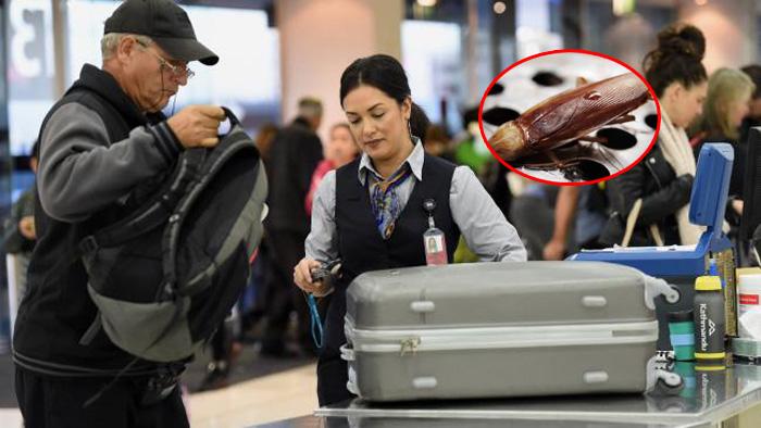 एअरपोर्ट पर शक्स लेजा रहा था पत्नी के लिए ऐसी चीज़ कि देखने वालों की आँखें भर आई
