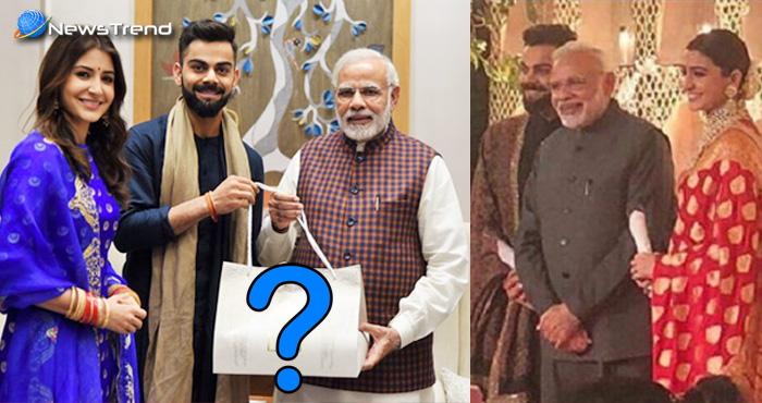 मोदी ने तो गुलाब दिया लेकिन विराट-अनुष्का ने ऐसा क्या दिया पीएम मोदी को? जानकर हो जायेंगे दंग