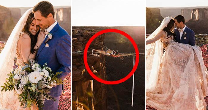 ये है दुनिया की सबसे खतरनाक और खूबसूरत शादी, वीडियो देख रोंगटे खड़े हो जाएंगे