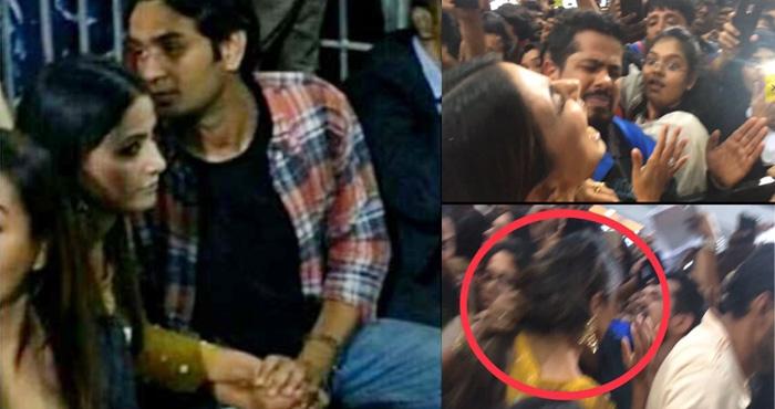 बिग बॉस : बेकाबू हो गई भीड़, हिना खान के साथ की ऐसी हरकत की चींखने-चिल्लाने लगीं – देखिए