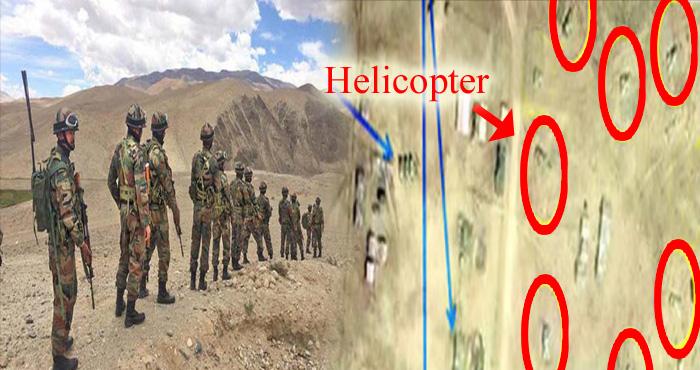 बड़ी ख़बर : डोकलाम के उत्तरी हिस्से पर चीनी सैनिकों ने किया कब्जा, सैटलाइट इमेज में दिखे 7 हेलिपैड
