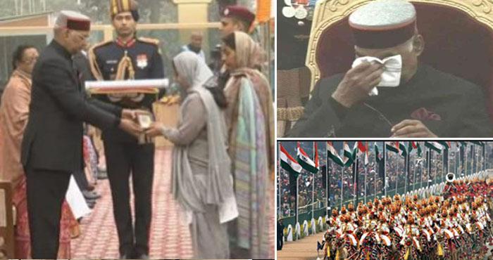 गणतंत्र दिवस: राजपथ पर आन-बान-शान के साथ भावुक हुए राष्ट्रपति, जश्न में डूबा पूरा देश