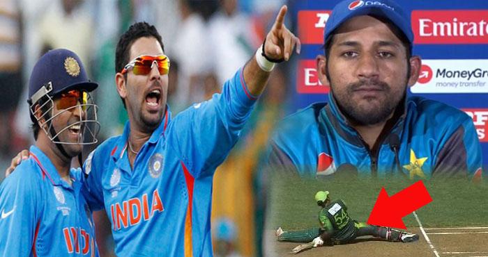 धोनी की नकल करते हुए पाकिस्तानी कप्तान का फट गया पजामा, क्रिकेट फैंस ने लिए ऐसे मजे