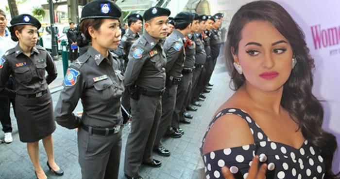 सोनाक्षी सिन्हा की अपकमिंग फिल्म के सेट पर मिला कुछ ऐसा कि पुलिस ने रूकवा दीशूटिंग