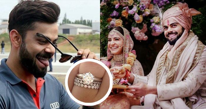विराट ने अपनी शादी की अंगूठी के साथ किया कुछ ऐसा, देखकर अनुष्का और टीम के खिलाड़ी भी हो गए हैरान – देखिए