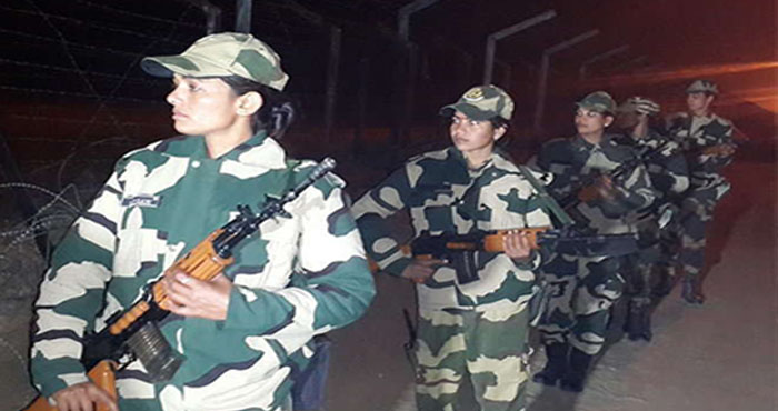 भारत-पाकिस्तान बॉर्डर पर अब रात को भी कर रही हैं महिला जवान गस्त,पाकिस्तानी सेना की अब खैर नहीं