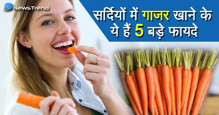 सर्दियों में गाजर खाना है बेहद फायदेमंद, इसके 5 बड़े फायदे जानकर आप भी दंग रह जाएंगे!