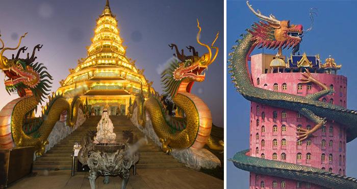 काल्पनिक नहीं हकीकत में होते थे ड्रैगन, जानिए ड्रैगन के अद्भुत मंदिर के बारे में