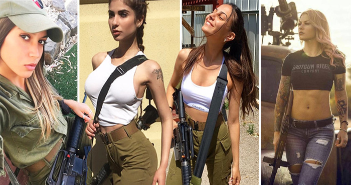 इजरायल फौज की इन महिला सैनिकों को देखकर चौंक जाएंगे आप, बड़े बड़े आतंकवादी भी खाते हैं खौफ..