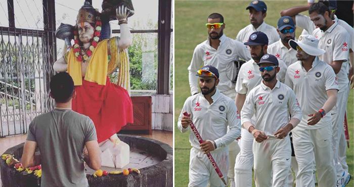 टीम इंडिया पर अकेले भारी पड़ रहा है अफ्रीकी टीम का ये 'हनुमान भक्त' खिलाड़ी, जानिए कौन है ये?