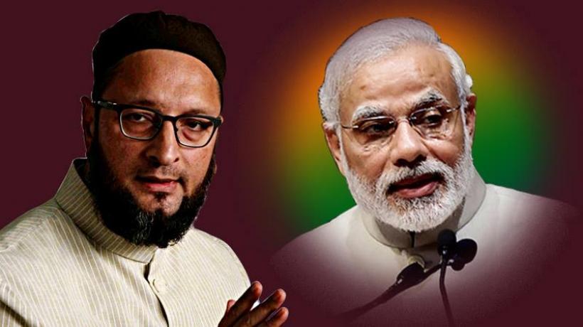 ओवैसी का बड़ा बयान 'बीजेपी कांग्रेस मुक्त भारत नहीं, बल्कि मुस्लिम मुक्त चाहती है'