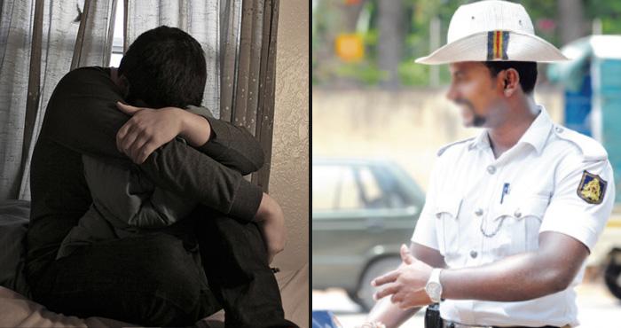 सिपाही ने अधिकारी के बेटे को पहले फ्लैट में बुलाया, उसे किस किया और फिर...