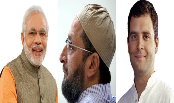 ओवैसी को लेकर कांग्रेस ने दिया बड़ा बयान 'बीजेपी के गुप्त ऐजेंट है मुस्लिमों के मसीहा'
