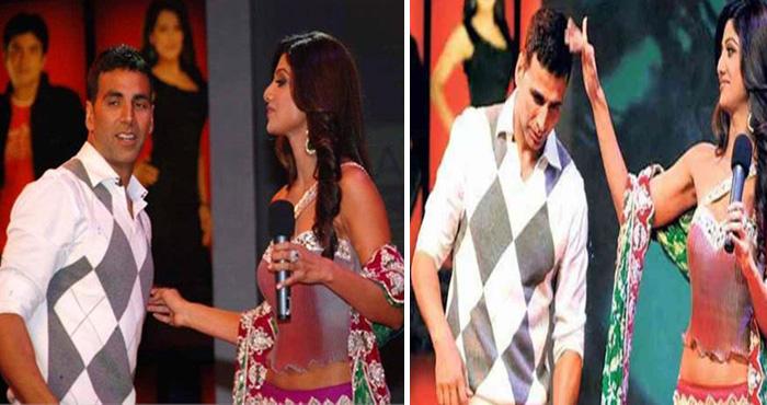 जब शो में पूर्व प्रेमिका शिल्पा शेट्टी से टकराए अक्षय कुमार, किया ऐसा कि सबके होश उड़ गए
