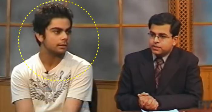 पहले पत्रकारों के सामने बिल्कुल 'खामोश' हो जाते थे विराट कोहली, देखिए उनका पहला इंटरव्यू