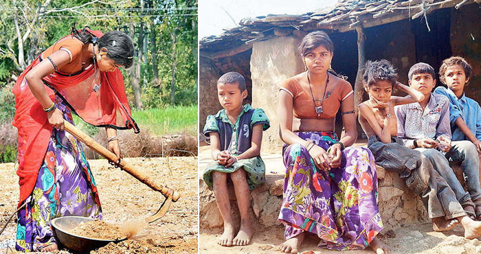 मां-बाप बदनामी के डर से भाग गए, 13 साल की बेटी पाल रही 4 भाई-बहनों को