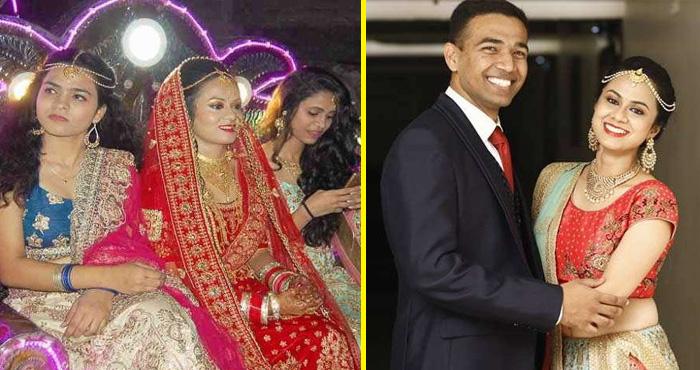 इस अनोखी शादी में दुल्हन ख़ुद बारात लेकर पहुँची दूल्हे के घर , वजह आप के दिल को छू जाएगा
