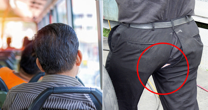 बस में सफ़र कर रहे व्यक्ति की फटी पेंट, शिकायत लेकर पहुंचा पुलिस थाने