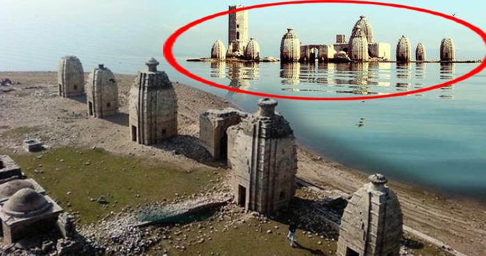 8 महीने पानी में डूबा रहता है ये मंदिर, पांडवों ने बनाई थी यहां स्वर्ग की सीढ़ियां