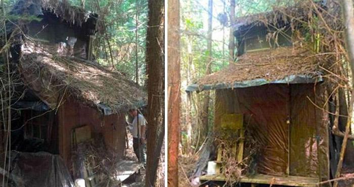 बीच जंगल में बनी इस जगह को झोपड़ी समझकर अन्दर घुसा रेंजर और फिर जो हुआ…