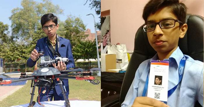 हर्षवर्धन सिंह जाला | 14 साल के बच्चे ने बनाया बमनिरोधी ड्रोन