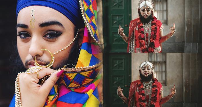 दाढ़ी मूंछ के साथ शान से जीती है ये लड़की, जो भी देखता है करता है जज्बे को सलाम- देखें