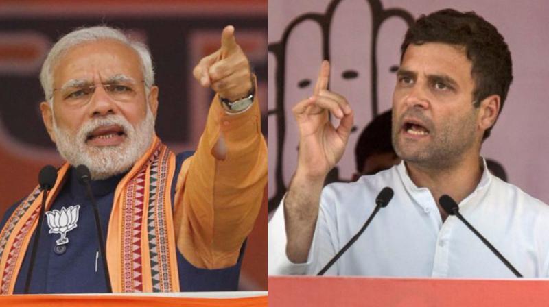 कांग्रेस का अब तक सबसे बड़ा दावा 'राहुल ही हैं मोदी के विकल्प, 2019 में बदलेगी सत्ता'