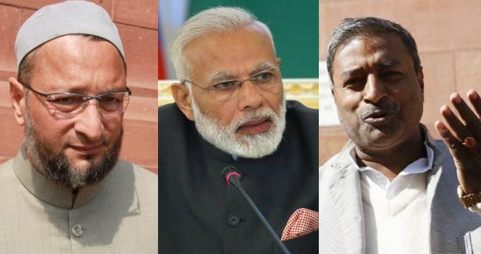 ओवैसी पर बीजेपी सांसद ने कहा 'भारत में मुसलमानों का क्या काम, पाकिस्तान जाएं'