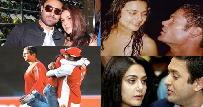 इन 5 मर्दों से रह है प्रीति जिंटा का अफेयर, एक ने तो IPL में मैदान पर ही की थी गंदी हरकत