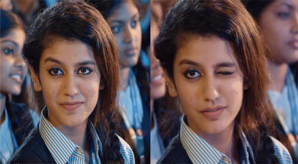 आंख मारने वाली प्रिया प्रकाश का एक और विडियो हुआ वायरल, जल्द कर रही हैं बॉलीवुड में डेब्यू!