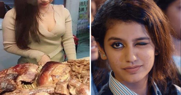 इस मटन वाली को देखकर भूल जायेंगे आँख मारने वाली प्रिया को, यकीन ना हो तो खुद ही देख लें