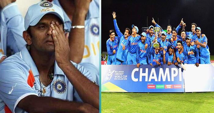 कभी फूट फूटकर रोये थे राहुल द्रविड़, अब खुशियों ने भरी दी उनकी झोली