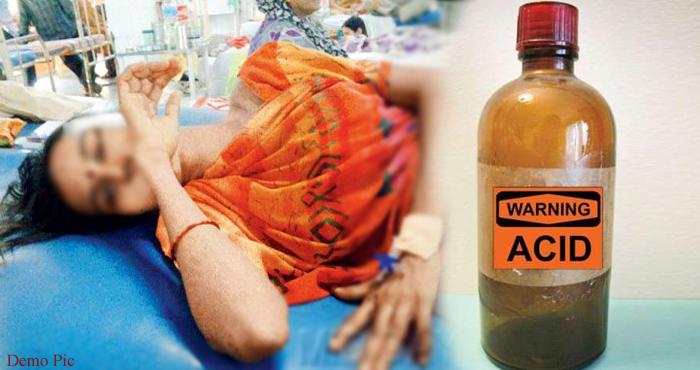 निजी अस्पताल में इलाज कराने आई महिला को पानी की जगह पिलाया एसिड, हुआ ऐसा हाल