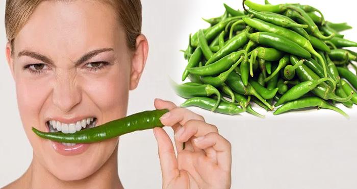 हरी मिर्च खाने के फायदे