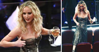 जेनिफर लॉरेंस, वाइन पीकर अवार्ड्स फ़ंक्शन में पहुँची यह मशहूर ऐक्ट्रेस, खो बैठी अपना आपा करने लगी यह काम