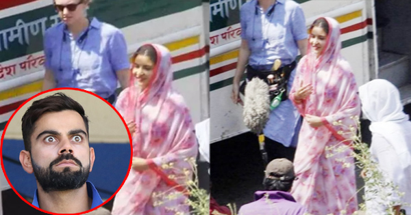 सड़कों पर ये किस हालत में घूम रही हैं अनुष्का शर्मा? ये रुप देखकर विराट भी हो गए हैरान