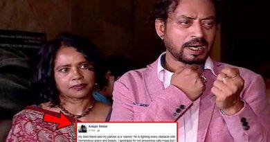 पत्नी ने इरफ़ान खान की बीमारी पर तोड़ी चुप्पी, कही ऐसी बात जिसे जानकर हैरान रह जायेंगे आप