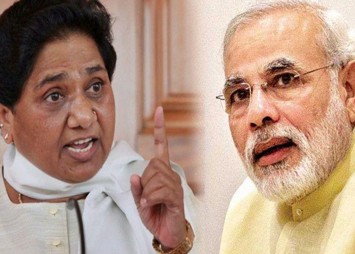 बीजेपी पर मायावती का बड़ा हमला, 'केद्र सरकार दोहरा मापदण्ड क्यों अपनाती है?'