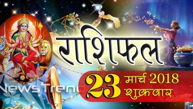 Rashifal 23 March 2018, 23 march horoscope, 23 मार्च राशिफल, astrological predictions, daily predictions, आज का राशिफल, दैनिक राशिफल, राशिफल, राशिफल 23 मार्च