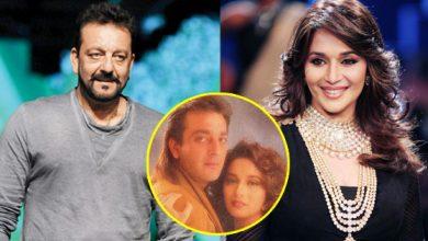 संजय दत्त की गर्लफ्रेंड थी माधुरी दीक्षित