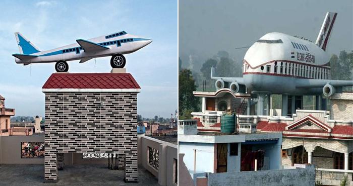 हर घर की छत पर हवाईजहाज खड़े