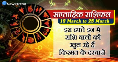 weekly rashiphal 19 march to 25 march 2018, 19 march horoscope, 19 मार्च राशिफल, weekly horoscope, Rashifal 19 march, Weekly astrological predictions, Rashifal, weekly rashifal, साप्ताहिक राशिफल