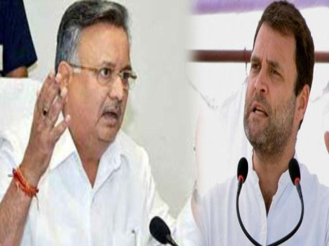 सीएम रमन सिंह का वार, 'कांग्रेस का सारा काम केवल सोशल मीडिया पे है, बाहर जाएं'