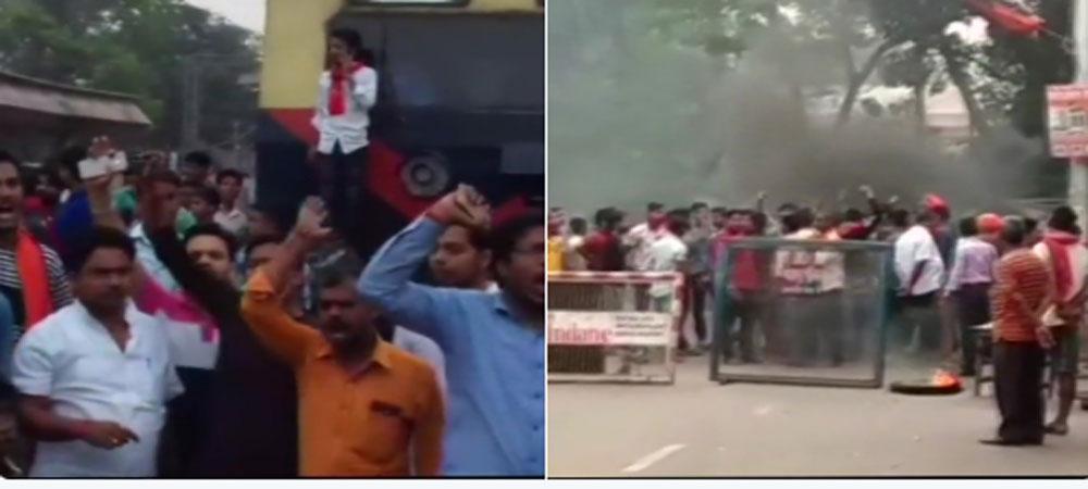 आरक्षण के खिलाफ भारत बंद, बिहार में उपद्रवियों ने की जमकर फायरिंग