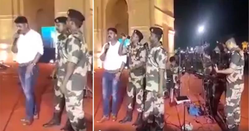 जवानों गीत गाते हुए, सेना के जवानों की दिलकश आवाज ने इंटरनेट पर मचाई धूम