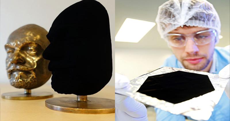 वेंटाब्लैक, वेंटाब्लैक को माना जाता है दुनिया की सबसे काली चीज़