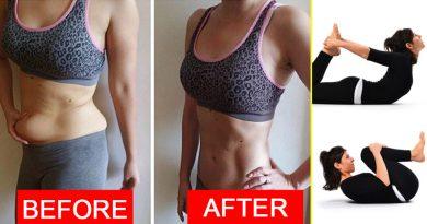 पेट की चर्बी घटाने के आसन, पेट की चर्बी घटाने के 5 आसन