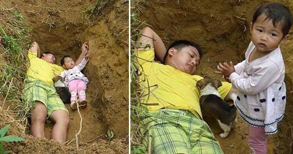 प्रतिदिन यह बाप अपनी बेटी के साथ सोता है क़ब्र में, वजह जानकार नहीं रोक पाएँगे अपने आँसू