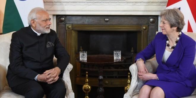 लंदन में बोले पीएम मोदी 'फोन उठाने से भी डर रहा था पाकिस्तान'